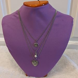 Juicy Couture silver necklace - AH028